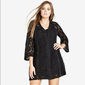 NWT City Chic Innocent Lace Dress